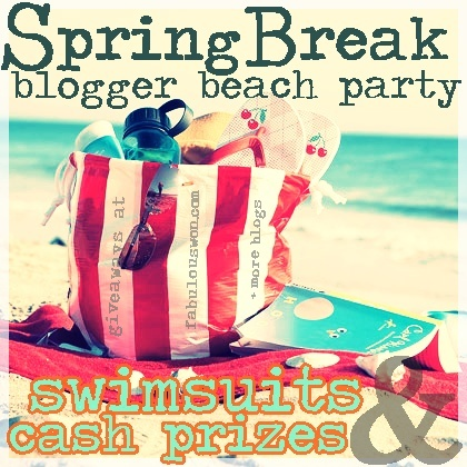 {Giveaway} Spring Break Blogger Beach Party Swimsuits + Cash Prizes