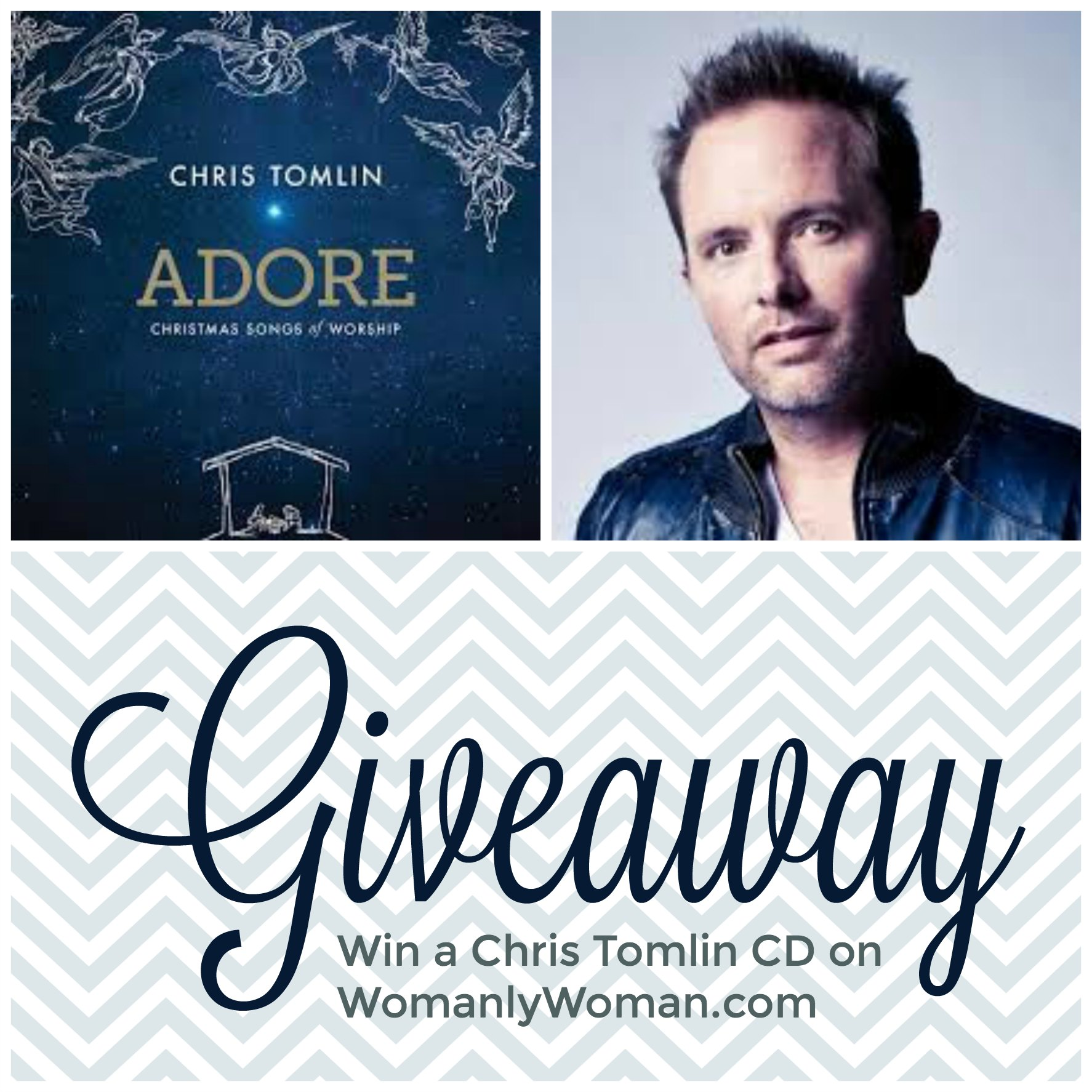 CD Giveaway: Chris Tomlin Adore: Christmas Songs of Worship #FlyBy