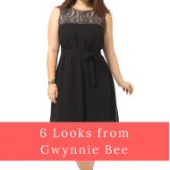6 Looks from Gwynnie Bee : Plus Size Clothing Subscription Boxes in Sizes 10-32