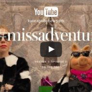 Hilarious Video:  Miss Piggy and kate spade new york #missadventure