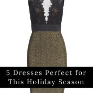 5 Dresses Perfect for This Holiday Season (and you can rent them!)