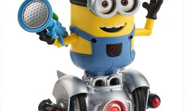 Minion Robot Giveaway!  Cute! @WowWeeWorld #Mipturbodave @SMGurusNetwork