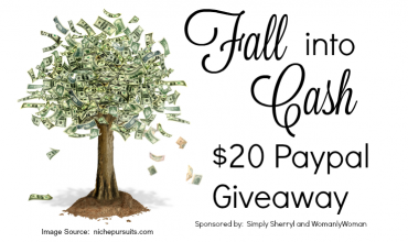 Fall into Cash $20 PayPal Giveaway