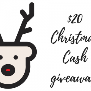 $20 Christmas Cash Giveaway